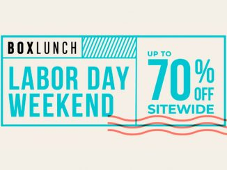 BoxLunch Labor Day Weekend Sale 2019