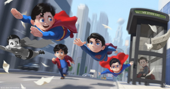 Boys of Steel Art Print-small