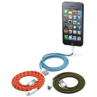 Braided Fabric Smartphone Cables