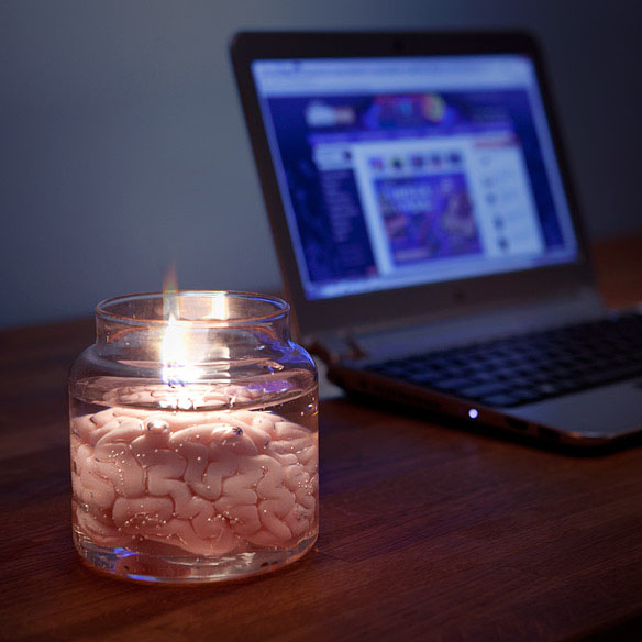 Brain in a Jar Candle