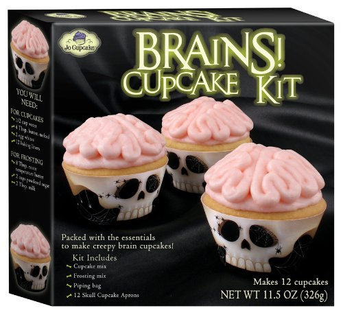 Brains Cupcake Kit