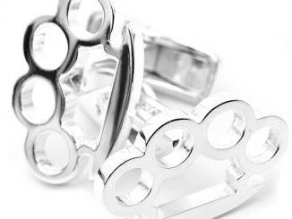 Brass Knuckles Cufflinks