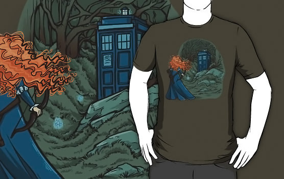 Brave Doctor Who Mash Up Shirt