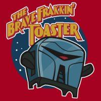 Brave Frakkin' Toaster T-Shirt