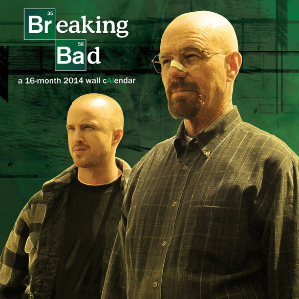 Breaking Bad 2014 Wall Calendar