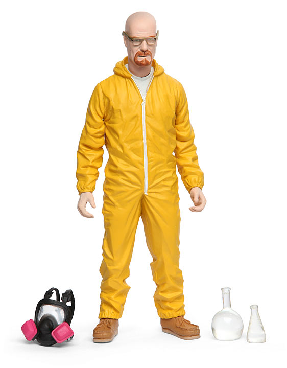 Breaking Bad 6 Walter White Hazmat Figure
