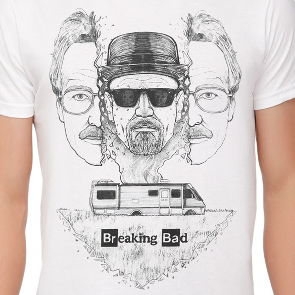 Breaking Bad Heisenberg Inside T-Shirt