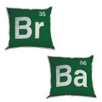 Breaking Bad Logo 12-Inch Plush Pillow Set