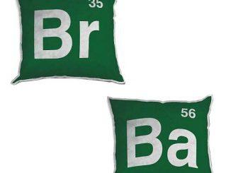 Breaking Bad Logo 12-Inch Plush Pillow Set