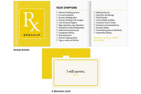 Breakup Recovery Novelty Kit
