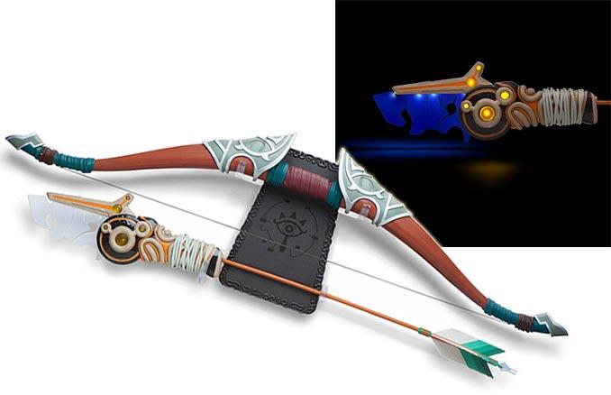 Link With Arrow T-Shirt blu The Legend of Zelda Breath Of The Wild
