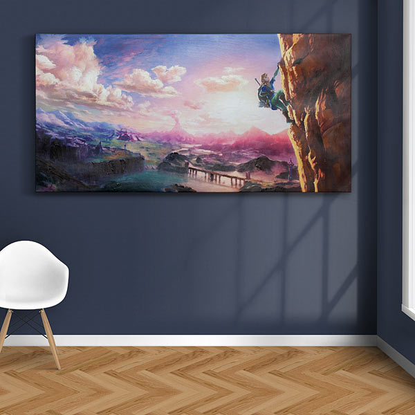Breath of the Wild Oil Canvas