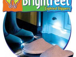 Bright Feet Light-Up Slippers