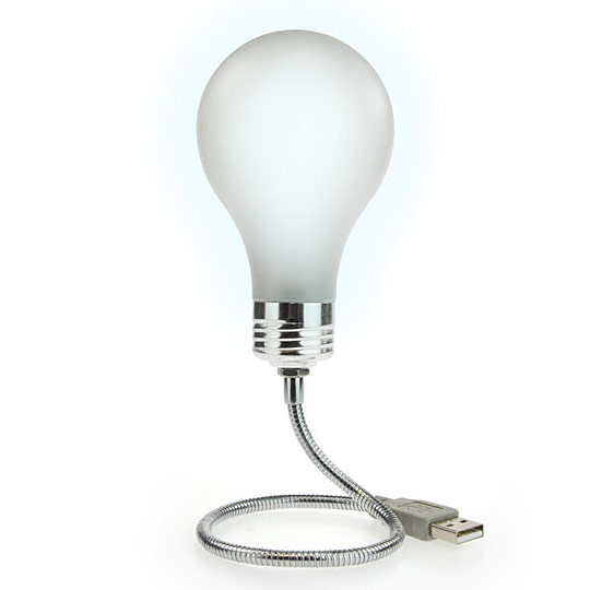 Bright Idea USB Powered Light Bulb