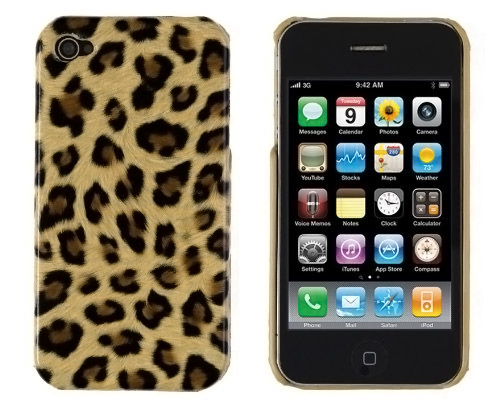 Brown Leopard Print Case