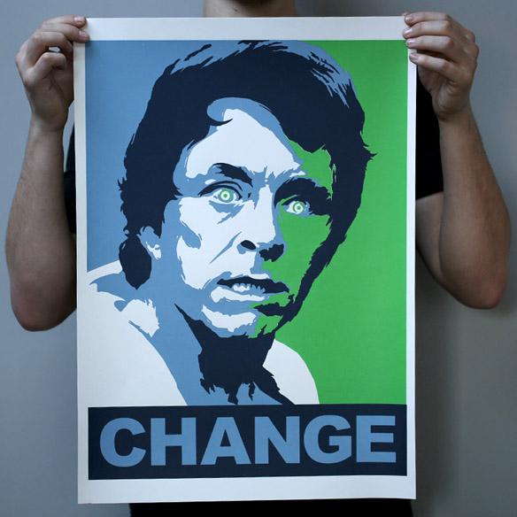 Bruce Banner Change Poster