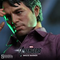 Bruce Banner Sixth Scale Figure Skin Texture