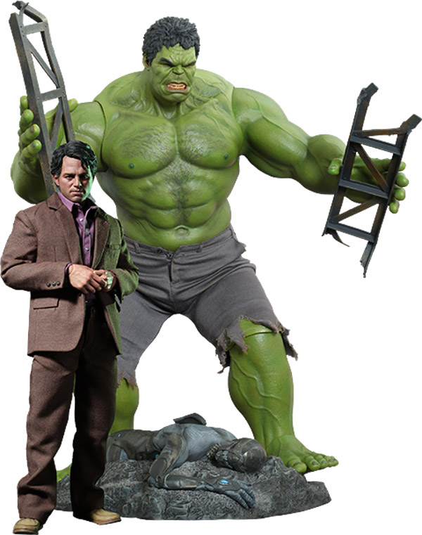 Bruce Banner and Hulk Sixth Scale Figure Set