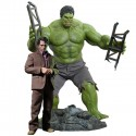 Bruce Banner and Hulk Sixth Scale Figures