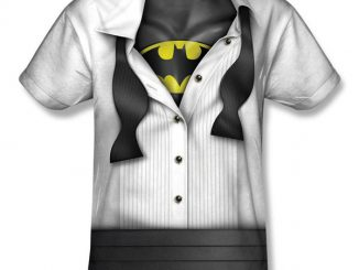 Bruce Wayne Open Tux Batman Reveal T-Shirt