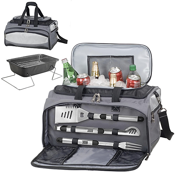 Buccaneer Tailgaiting Cooler with Grill