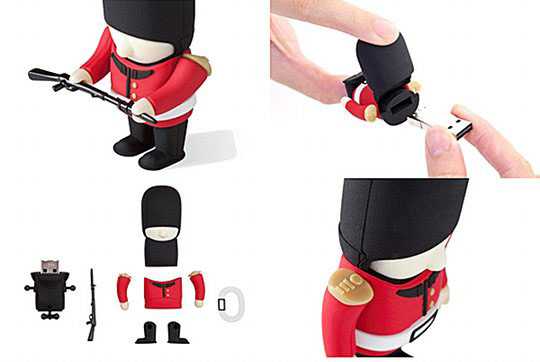 Buckingham Palace soldier 4GB 8GB dongle