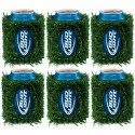 Bud Light Grass Can Coozie