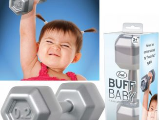 Buff Baby Rattle