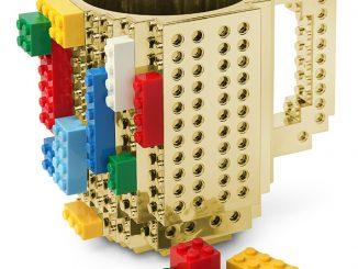Build On Brick Mug - Metallic