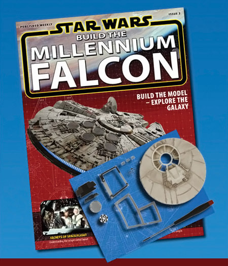 Build The Millennium Falcon Star Wars Magazine