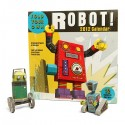 Build-a-Robot 2012 Paper Craft Calendar