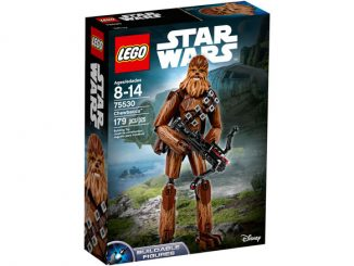 Buildable LEGO Star Wars Chewbacca 75530