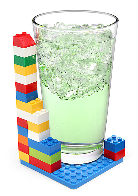 Building Brick Coaster Set