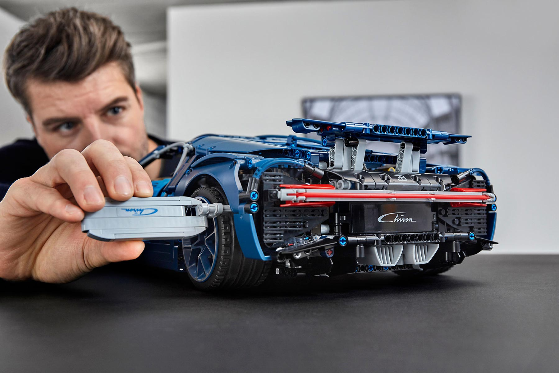 Lego Technic Bugatti Chiron Detailed Replica