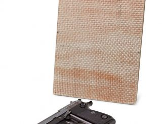 Bulletproof Body Armor Clipboard