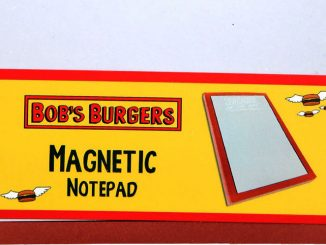 Burger of the Day Magnetic Notepad