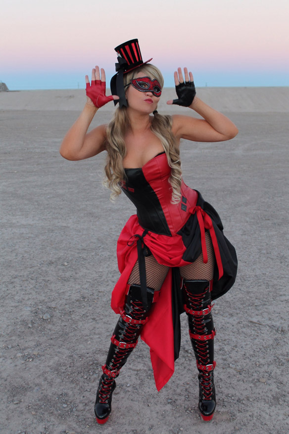 Burlesque Harley Quinn Costume