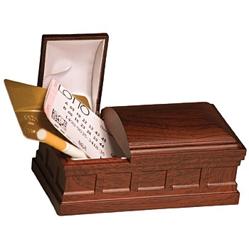 Bury The Habit Recordable Coffin