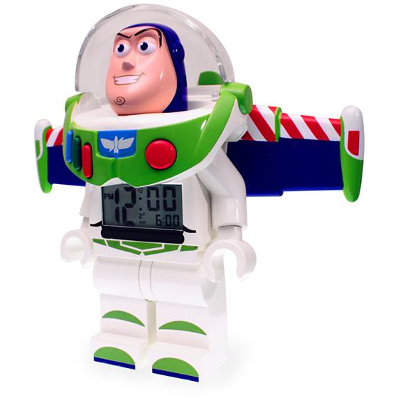 Buzz Lightyear LEGO Minifigure Alarm Clock