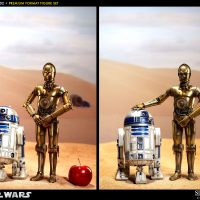 C-3PO and R2-D2 Figures