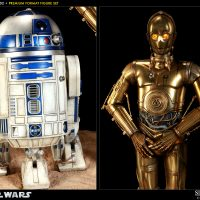 C-3PO and R2-D2 Format Figures