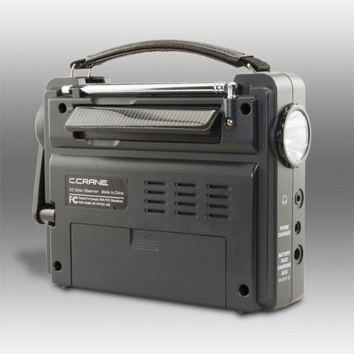 C Crane-designed Observer Solar Radio