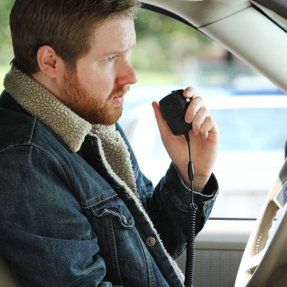 CB Radio Handset for iPhone