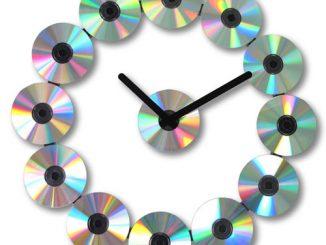 CD Wall Clock