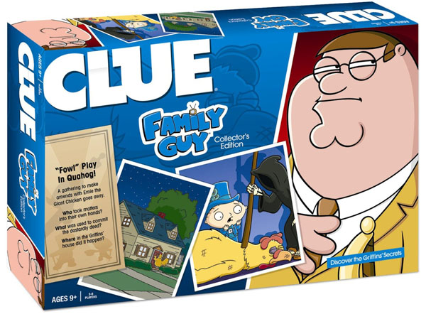 CLUE Family Guy Collector's Edition