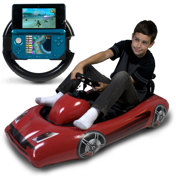CTA Digital Inflatable Sports Kart for 3DS and Wii
