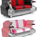 Cadillac Sofa black 2