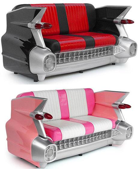 Cadillac Sofa black 2