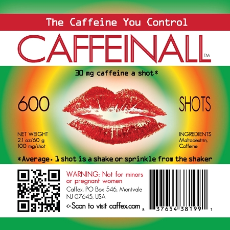 CaffeinAll Gourmet Caffeine Additive
