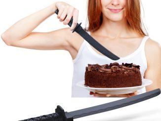 Cake Samurai Knife